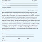 Release forms for documentary productions
